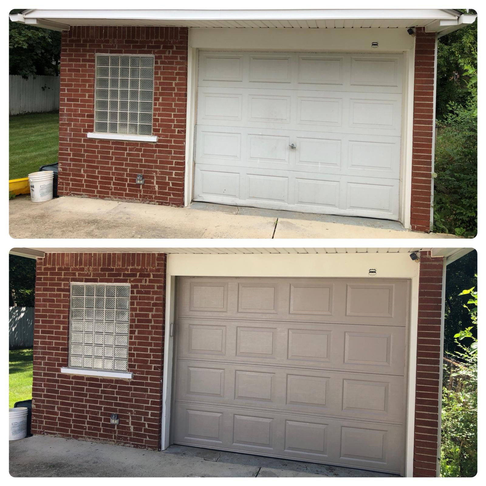 A brand new garage door will change the feel of your whole garage!