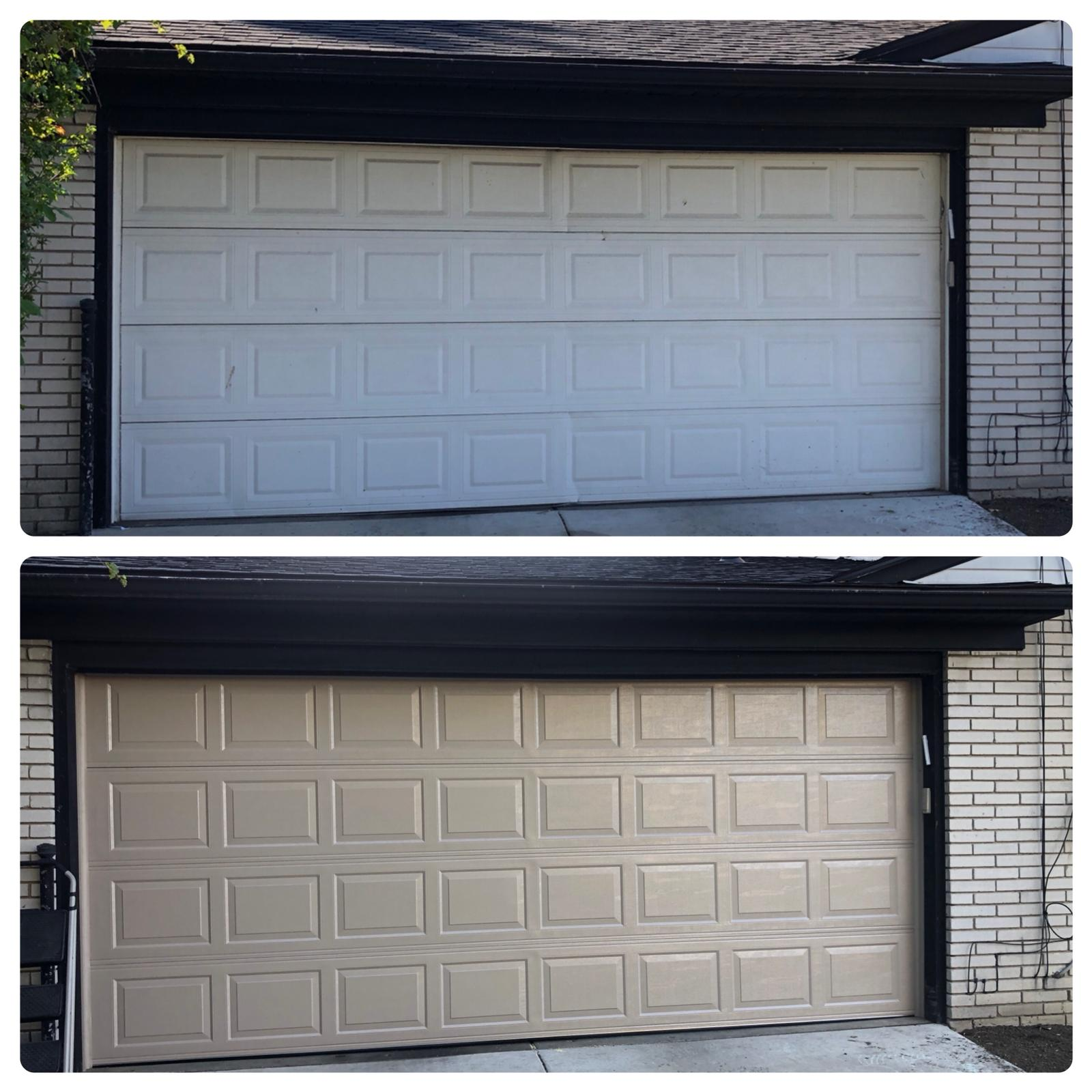 See what a difference a brand new garage door can make